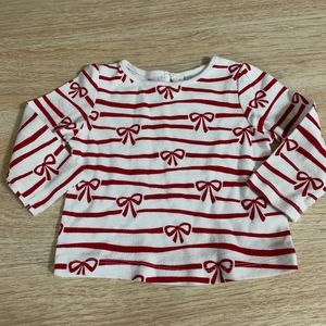 Gymboree Holiday Present Top